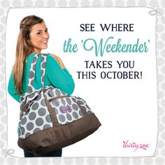 Thirty-One Gifts - Taking it way back Retro Metro Style.