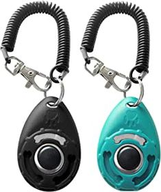 ▼Come in 2 pack button clickers with wrist strap in 2 different colors: Blue, Black ▼Can be used to train the dog basic obedience, small trick, and correct the bad behavior; Scientific method of training your pet safely and easily.#dogtraininglools #dogtrainingtoolsupplies #professionaldogtrainingsupplies #dogtrainingequipmentlist #bestdogtrainingtools #dogtrainingtoolsforbarking #dogtrainingtoolsclicker #bestdogtrainingdevices #storeforpets Dog Training Tools, Training Your Dog, Rescue Puppies, Dog Activities, Indoor Activities, Dog Store, Blue Dog, Color Negra, Dog Treats