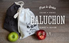 Bonjour Darling - Blog Illustration, Cuisine et DIY Bordeaux: DIY Joli baluchon pour le gouter