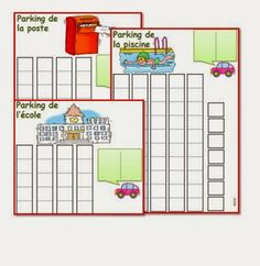 CP : activité de comptage, vers la dizaine LE PARKING - IPOTÂME ....TÂME