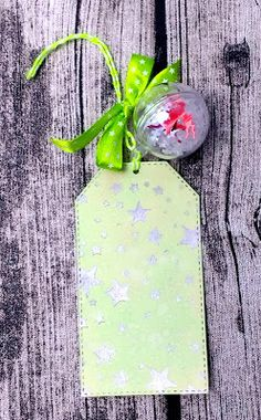 Snow Bauble Tag