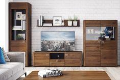 Comoda TV Large Rondo 25 #homedecor #inspiration #interiordesign #livingroom #decoration #living Flat Screen, Living Room, Interior Design, Columbia, Modern, Inspiration, Home Decor, Interiors, Simple Lines