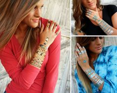 Metallic Tattoos for Best Friends  - Accessories
