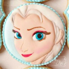 Frozen Princess Elsa   Cookie Connection