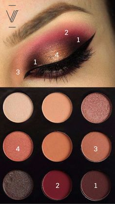 #MannyMua #MakeupGeek #EyeshadowPalette #Sombras #Eyeshadow #Eyes
