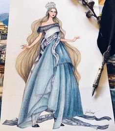 Miss Cloth World by @vocongkhanh by @eris_tran #FashionIllustrations |Be Inspirational ❥|Mz. Manerz: Being well dressed is a beautiful form of confidence, happiness & politeness