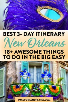 Planning a trip to New Orleans for a few days? These are the best things to do in New Orleans wrapped up in this perfect 3 days in New Orleans itinerary. | New Orleans itinerary | Best things to do in New Orleans | New Orleans Travel Guide | Long Weekend in New Orleans | Long Weekend in NOLA | 3 days in NOLA | NOLA itinerary | best things to do in NOLA