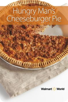 "After Mark B.'s mother-in-law first made cheeseburger pie for him 20 years ago, he started making it himself. ""I love it, and my three kids do, too,"" says Mark, an associate at Store 994 in New Port Richey, Fla. #easy #beef #recipe"