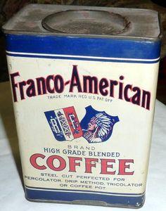 Franco-American 1 pound tin