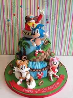 1000 Images About Sonic Cake Ideas On Pinterest Sonic
