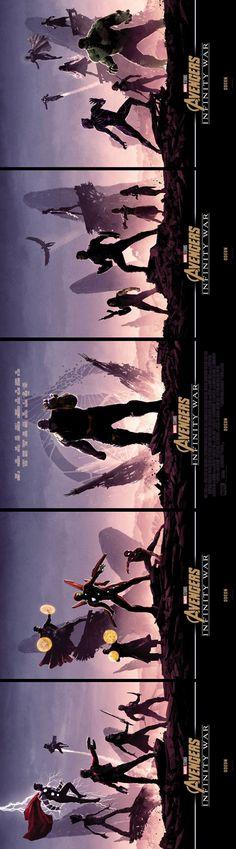 The Avengers Infinity war art,so amazing . Marvel Cinematic, Marvel Dc Comics, Marvel Art, Marvel Universe