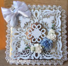 Tattered Lace Cards, Printable Coloring, Cardmaking, Free Printables, Christmas Wreaths, Holiday Decor, Envelopes, Frame, Handmade