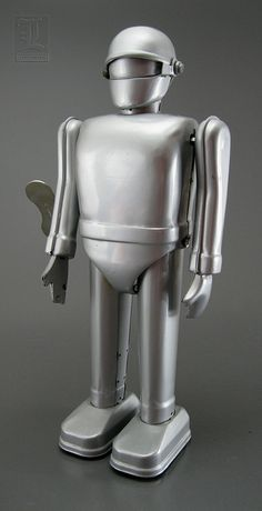 GORT tin wind-up robot by Rocket USA | Flickr - Photo Sharing!