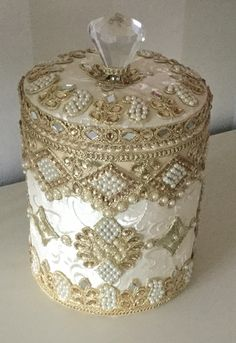 Altered Ice Bucket by Jean Wragg                                                                                                                                                                                 More