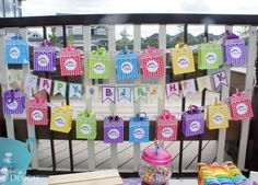 My Little Pony Party - Treat Bags and Banner