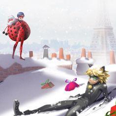 Леди Баг и Супер-Кот: Промо картинки к Рождественскому эпизоду