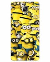 FurnishFantasy 3D Printed Designer Back Case Cover for OnePlus 3 // Printed - Minions
