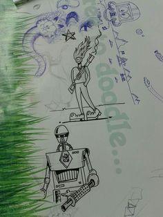 Worked based boredom doodling!