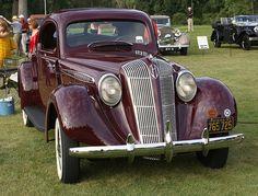 1937 Hupmobile G613 Rumble Seat Coupe