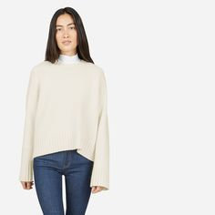 Everlane | The Wool-Cashmere Square Crew