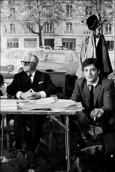 Alain Delon/ Jean Gabin