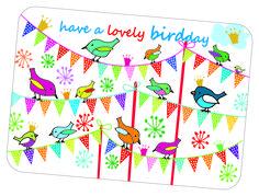 Zouden vogels hun verjaardag ook vieren ?