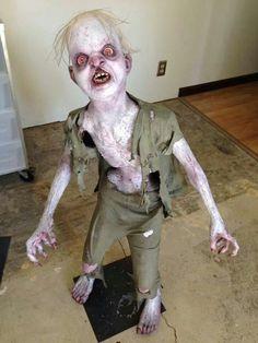 Halloween zombie prop