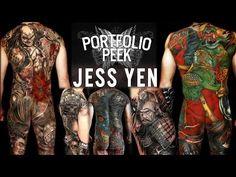 Sullen TV Presents a Brand NEW VIDEO 'Portfolio Peek' with Jess Yen! #JessYen #portfoliopeek