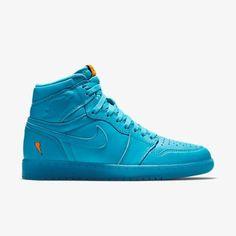 8faa5e193f86 Air Jordan Retro 1 High OG (Storm Blue) Size 14 Men s Size 14 New In ...
