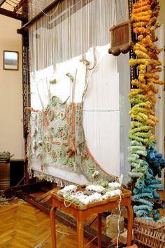 Anna Kubinyi, textile studio