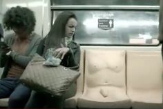 Mexico Installs Subway Seats With Dildos On Them In Sexual Harassment Campaign