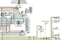 chevy c10 wiring diagram 2 1967 1972 automotive pinterest 72 rh pinterest com 1972 chevy impala wiring diagram 1972 chevy wiring schematic