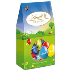 Solid Mini Eggs Canister 200g #WinEasterChocolateWithLindt