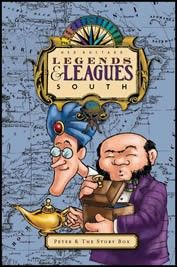 Legends and Leagues South Storybook - Literature based geography series, has workbooks to go with this series