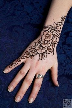 19. #Indian Mehndi #Design - 35 Incredible #Henna Tattoo Design #Inspirations ... → #Beauty #Amazing