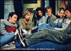 Dawson's Creek..I remember watching this show faithfully and having to record it because I had religion class the same time it was on. :)
