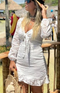 Autumn Fashion Curvy, Autumn Fashion For Teens, Fall Fashion Trends, White Outfits, Fall Dresses, Fabric Patterns, Frocks, Look, Wrap Dress