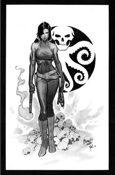 Viper aka Madam Hydra by Jorge Molina  Comic Art