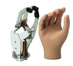 Active electric hand prosthesis / hook clamp / adult SPA series RSLSteeper
