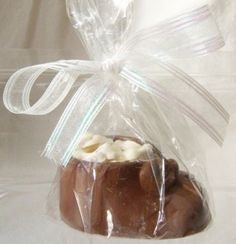 Gourmet Chocolate Baby Bootie Shower Favor Large