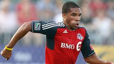 Ryan Johnson is a professional soccer player who grew up in Melrose.