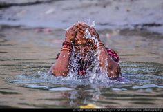 Early morning dip in Ganga - Varanasi, Uttar Pradesh