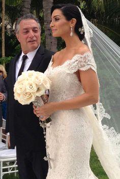 Mario Lopez and Courtney Mazza Wedding Photos