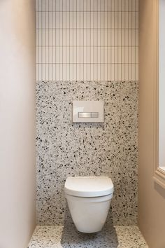 Bathroom Inspo, Bathroom Styling, Bathroom Interior Design, Bathroom Inspiration, Modern Bathroom, Small Bathroom, Bathroom Wall, Wall Tile, Terrazzo