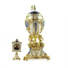 Royal Danish Faberge Egg