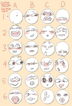 Expressions  Faces