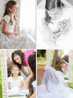 first communion session - girls