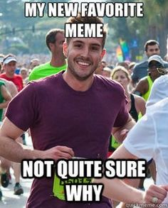 This meme cracks me up: Ridiculously Photogenic Guy