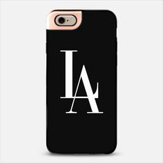 LA Los Angeles Black & White Vogue Typography METALUXE | @casetify