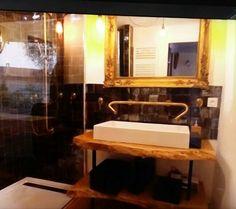 Bathroom Lighting, Bathroom Ideas, Bathtub, Mirror, Furniture, Home Decor, Bath, Bathroom Light Fittings, Standing Bath